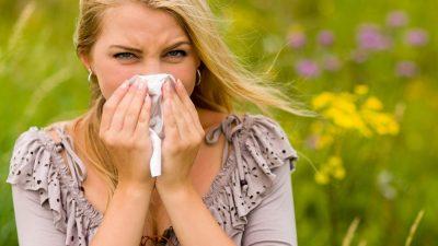 contactlenzen tijdens allergie seizoen