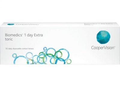 Biomedics 1Day Extra Toric lenzen vergelijken