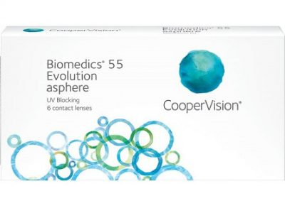 Biomedics 55 evolution lenzen vergelijken