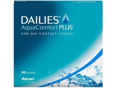 Dailies AquaComfort Plus lenzen Vergelijken