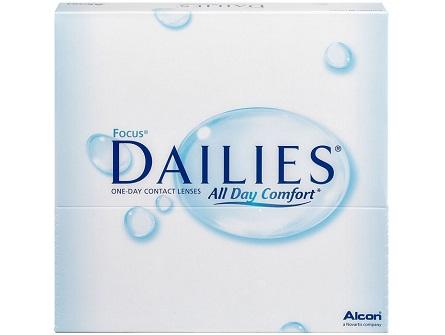 Focus Dailies lenzen vergelijken