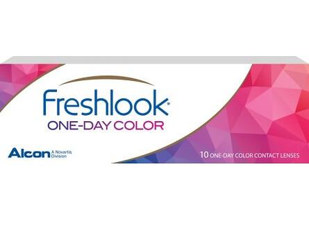 FreshLook One day kleurlenzen vergelijken