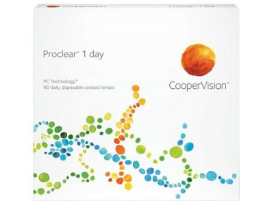 Proclear 1 day lenzen vergelijken