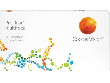 Proclear Multifocal lenzen vergelijken