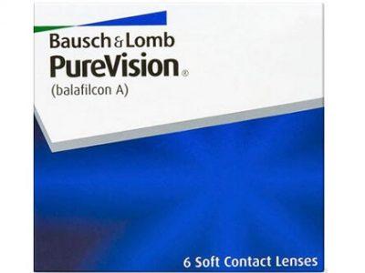 PureVision lenzen vergelijken