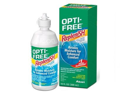 Opti free lenzenvloeistof vergelijken