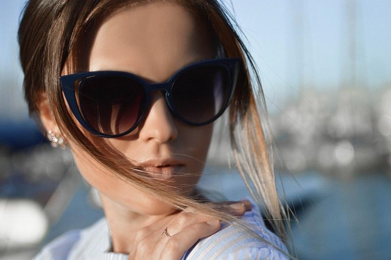 lenzen met zonnebril